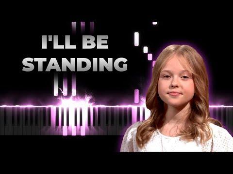 Alicja Tracz - I'll be standing (Junior Eurovision 2020 Poland) | Instrumental Karaoke Cover, Remix
